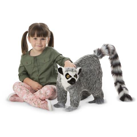 Melissa & Doug Lemur Lifelike Stuffed Animal