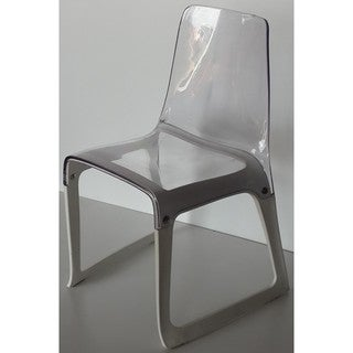 EMC Polycarbonate Side Chair (Option: Clear)