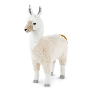 Melissa & Doug Llama Lifelike Plush Animal