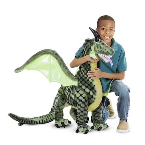 Melissa & Doug Winged Dragon Plush Animal