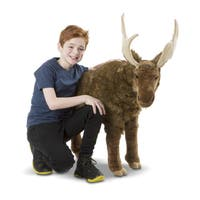 Melissa & Doug Moose Lifelike Plush