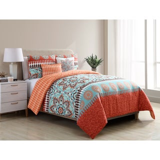 VCNY Home Ezra Reversible 5-piece Comforter Set