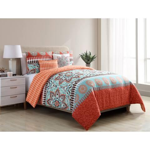 VCNY Home Ezra Reversible 5-piece Comforter Set