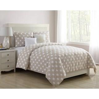 VCNY Home Eli Geometric Reversible Comforter Set