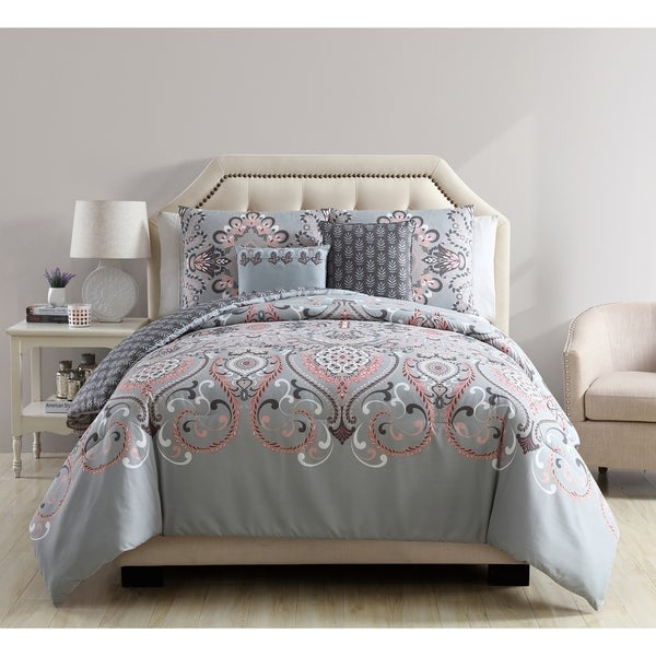 VCNY Home Amherst 5-piece Reversible Comforter Set