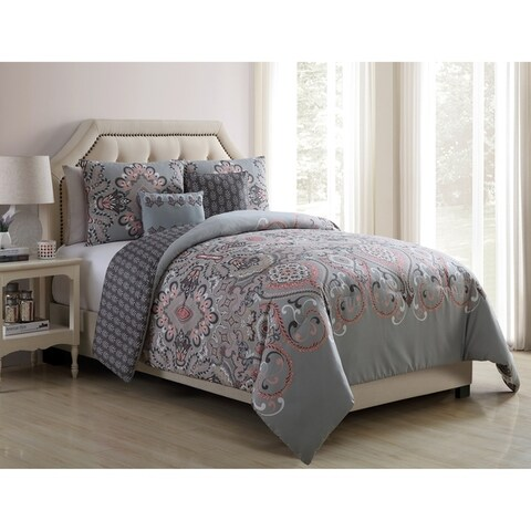 VCNY Home Amherst Reversible Comforter Set