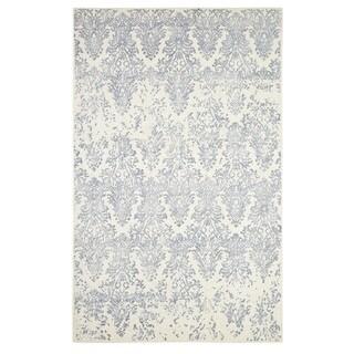 Dynamic Rugs Borgia Ivory/Slate Wool Area Rug (8' x 11')