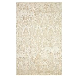 Dynamic Rugs Borgia Ivory/Taupe Wool Area Rug (2' x 4')