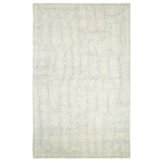 Borgia Light Blue Area Rug (2'x 4')