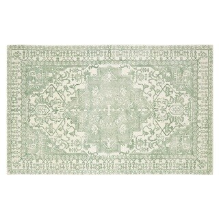 Dynamic Rugs Borgia Mint Wool Area Rug (2' x 4')