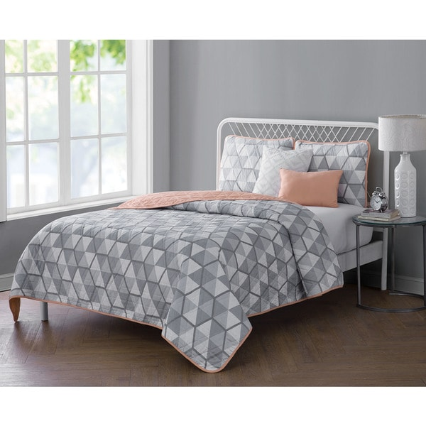 VCNY Home Brynley 5-piece Reversible Quilt Set