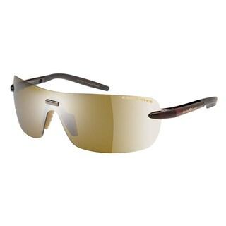 Eagle Eyes Callisto Unisex Black Cherry Gold Brown Sunglasses