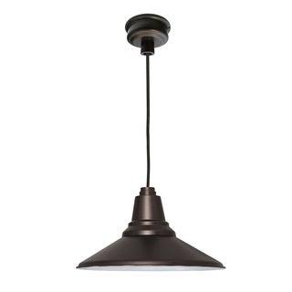 "12"" Calla LED Pendant Light in Mahogany Bronze"