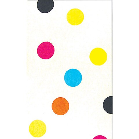 The Rug Market Multicolored Cotton Dot-patterned Area Rug (5' x 8')