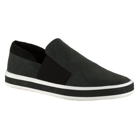 Bella Vita Women's Switch II Black Casual Slip-on Shoes