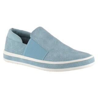 Bella Vita Women's Switch II Blue Casual Slip-on Shoes