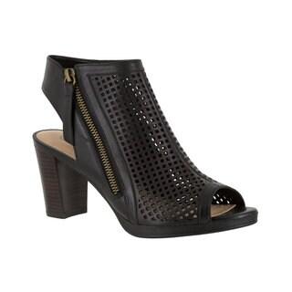 Bella Vita Lenore Women's Black Sandals