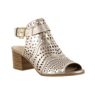 Bella Vita Women's Fonda Beige Sandals