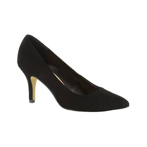 Bella Vita Womens Black Suede Pumps