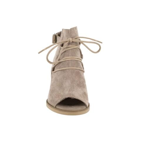 Bella Vita Women's Pru-Italy Almond Italian Suede Shoes