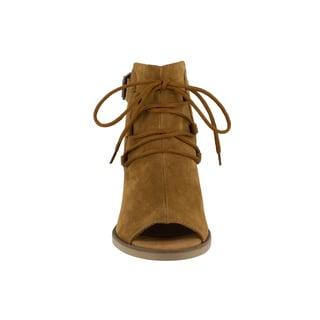 Bella Vita Women's Pru-Italy Tobacco Italian Suede Shoes