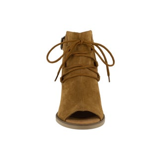 Bella Vita Women's Pru-Italy Tobacco Italian Suede Shoes