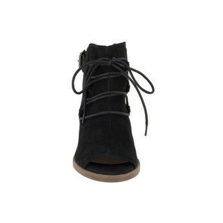 Bella Vita Women's Pru-Italy Black Italian Suede Shoes