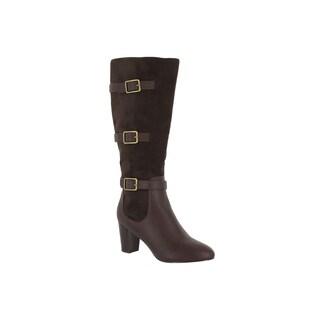 Bella Vita Women's Talina II Brown Suede Tall Boots