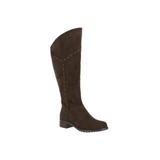 Bella Vita Women's Alanis II Brown Super Suede Tall Boots