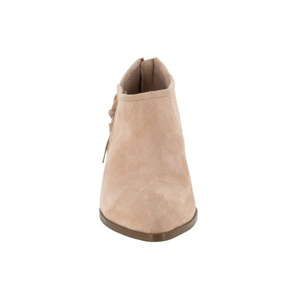 2575aa843dbd Shop Bella Vita Women s Eli Pink Suede Booties - Free Shipping Today ...