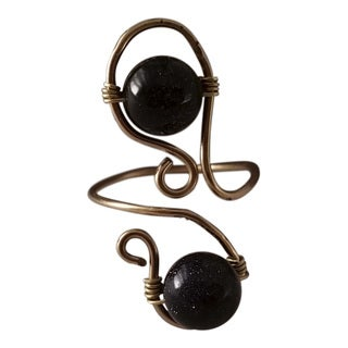 Handmade Blue Goldstone Ring (USA)|https://ak1.ostkcdn.com/images/products/16684684/P23003716.jpg?_ostk_perf_=percv&impolicy=medium