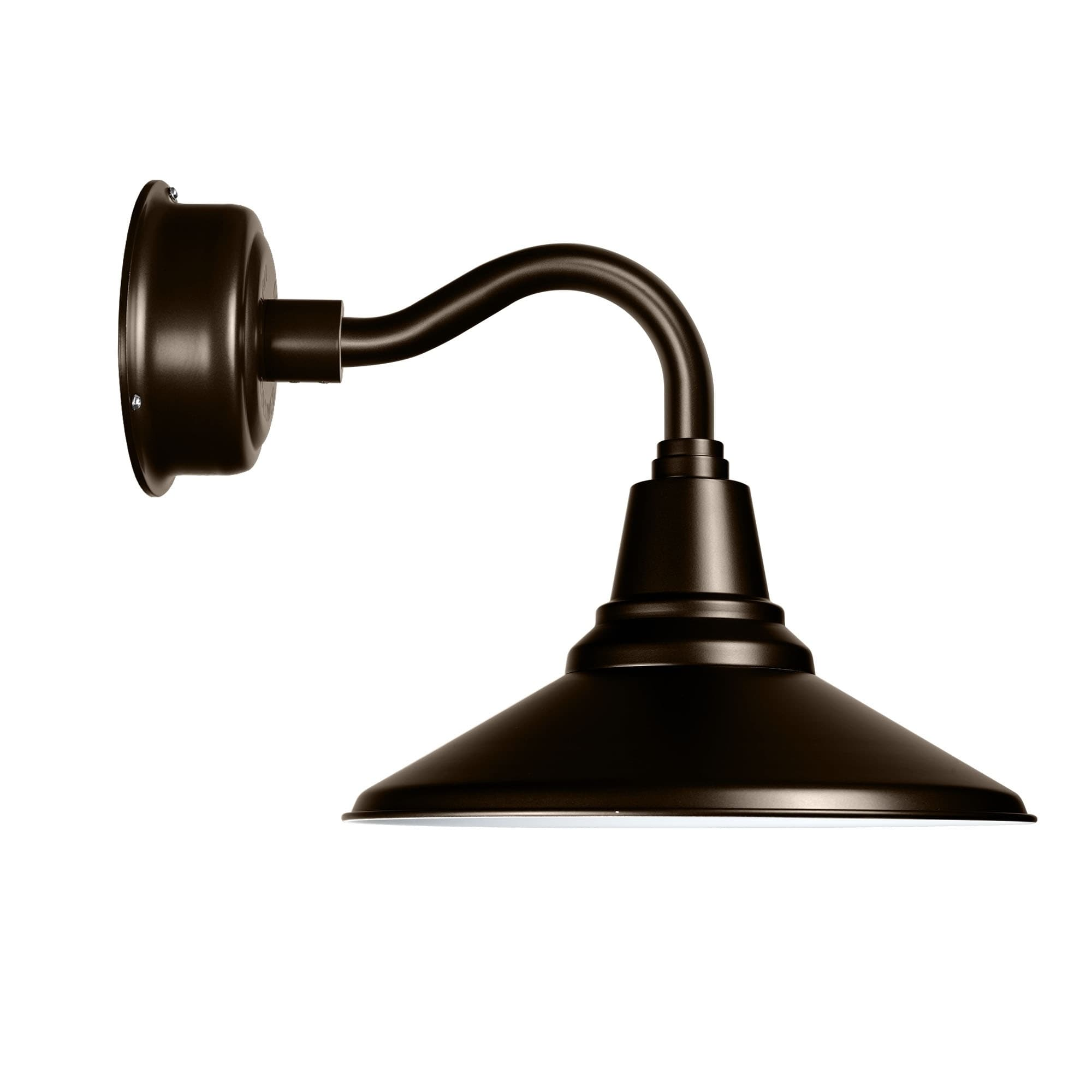 14 Calla Led Sconce Light With Chic Arm In Mahogany Bronze Overstock 16684747