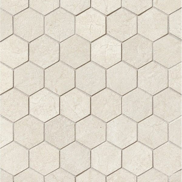 Shop 2x2 Hexagon Mosaic On 12 1 2x12 1 2 Sheet Case Of 11