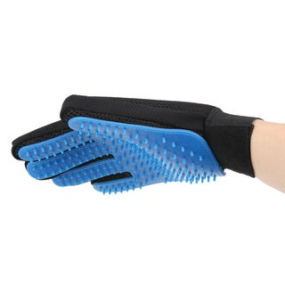 Pet Hair & Grooming Brush Gloves (One Pair)