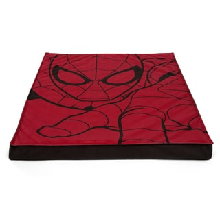 Marvel Spiderman Nap Mat Plus Memory Foam Dog Bed