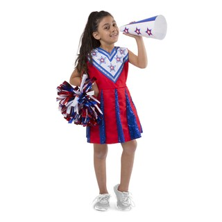 Melissa & Doug Cheerleader - Role Play Set