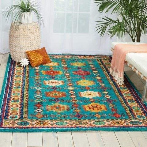 Nourison Vibrant Traditional Wool Area Rug