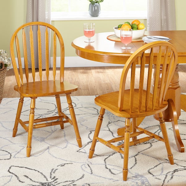 Simple Living Carolina Windsor Dining Chairs (Set Of 2)   Free Shipping  Today   Overstock.com   23004485