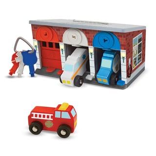 Melissa & Doug Keys & Cars Rescue Garage (Option: Multi)