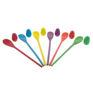 Hey! Play! Wooden Egg and Spoon Race Game - Red/Blue