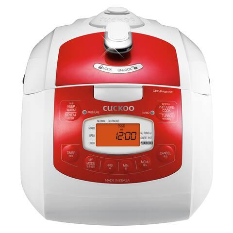 Cuckoo Electric Pressure Rice Cooker CRP-FA0610FR