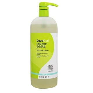 DevaCurl Low-Poo 32-ounce Original Mild Lather Cleanser