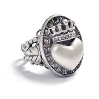 Sweet Romance Vintage Queen of Hearts Ring