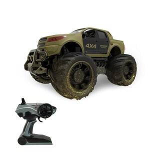 2.4 GHz Dirt-Ripper Mega Truck - Green