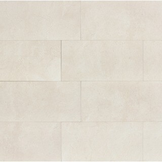 Marfil Alabaster Porcelain 12-inch x 24-inch Tiles (Pack of 9)