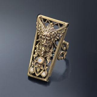 Sweet Romance Vintage Zeus Greek God Destiny Ring