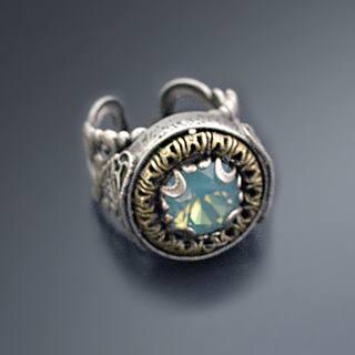 Sweet Romance Vintage Swarovski Element Crystal Circle Jewel Ring|https://ak1.ostkcdn.com/images/products/16685881/P23004869.jpg?impolicy=medium