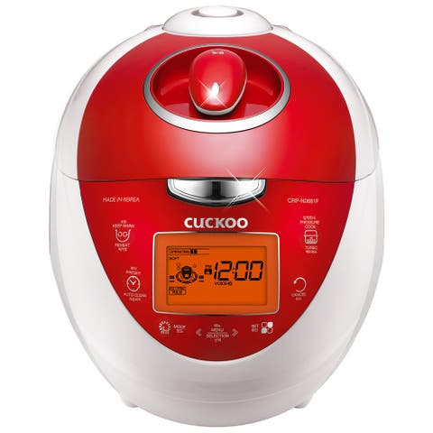 Cuckoo Electric Pressure Rice Cooker CRP-N0681FV