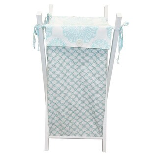 Cotton Tale Sweet and Simple Aqua/Blue Hamper