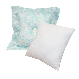 Cotton Tale Sweet and Simple Aqua/Blue Decor Pillows